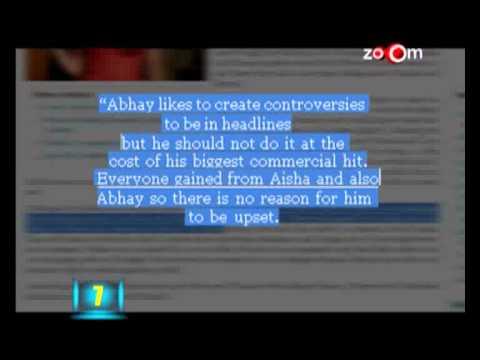 Anil Kapoor & Abhay Deol's war of words
