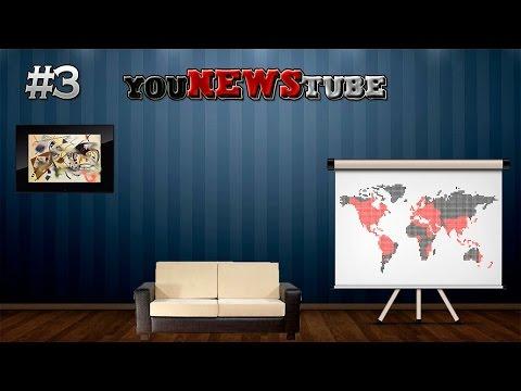 YouNewsTube - #3 VladNext, Evgexa и Максик (08.09.14)