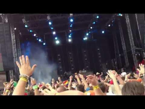 @ Creamfields UK 2012