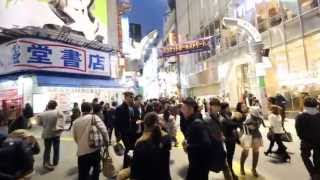 SIGMA 8-16 movie 50%speed Shibuya by EOS 60D