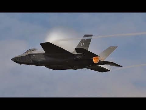 WOW!!!  F35 Lightning II   RIAT 2018