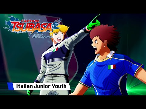 Ligue Junior Italie de Captain Tsubasa : Rise of New Champions