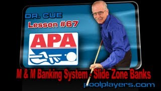 Dr. Cue Pool Lesson #67: M&M Banking System (Slide Zone Banks)!