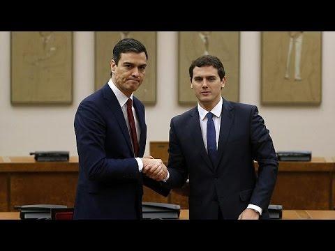 Ισπανία: Συμφωνία Σοσιαλιστών-Πολιτών για κυβέρνηση