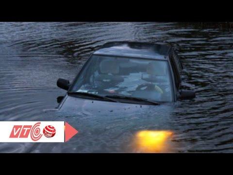 Kỹ năng thoát hiểm khi ô tô lao xuống sông