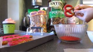 How To Make Chocolate Covered Pretzels by Love From The Oven