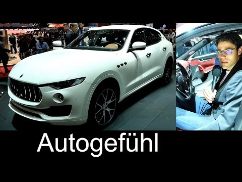 Maserati Levante SUV 超殺!!!