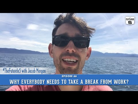 why i need to take a We all need to take a break sometimes oddly, though, many people leave their vacation time unused whether you take a vacation, a staycation, or a play-cation, it's important to take a break from the job, the routine, and the demands of life in order to keep stress levels in check.