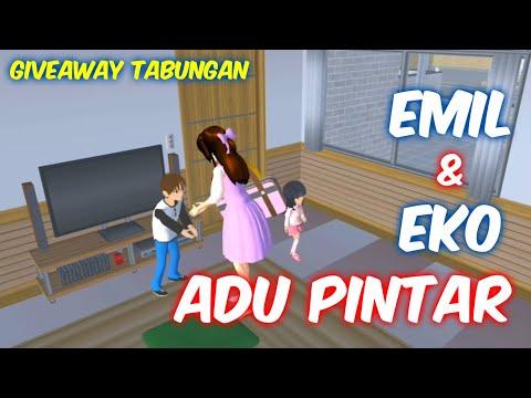Sakura Drama Emil Jago Matematika daripada Eko   Drama Sakura School Simulator Indonesia   SSS
