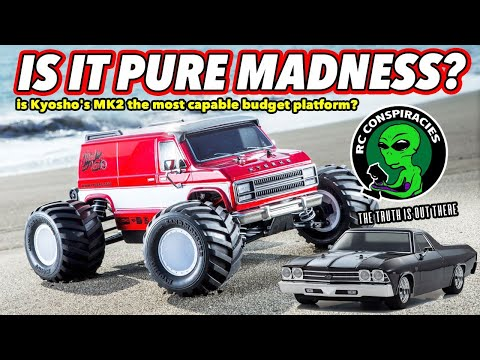 """Pure """"Madness""""! Kyosho's new Mad Van VE. Is Kyosho's MK2 The Most Overlooked But Awesome Platform?"""