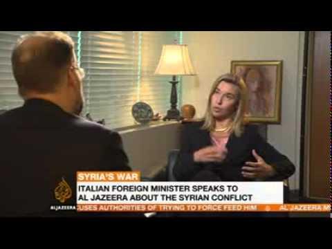 Siria: Ministro Mogherini su Al Jazeera