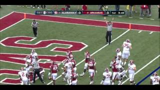 Eddie Lacy vs Michigan and Arkansas (2012)