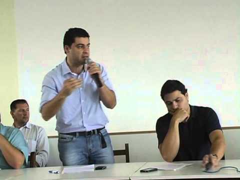 REUNIÃO EM SÃO JOÃO DO TRIUNFO - PR COM OS FUMICULTORES DE TODA REGIÃO.