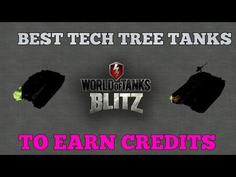 Wotb: Best Tech Tree Tanks To Make Credits