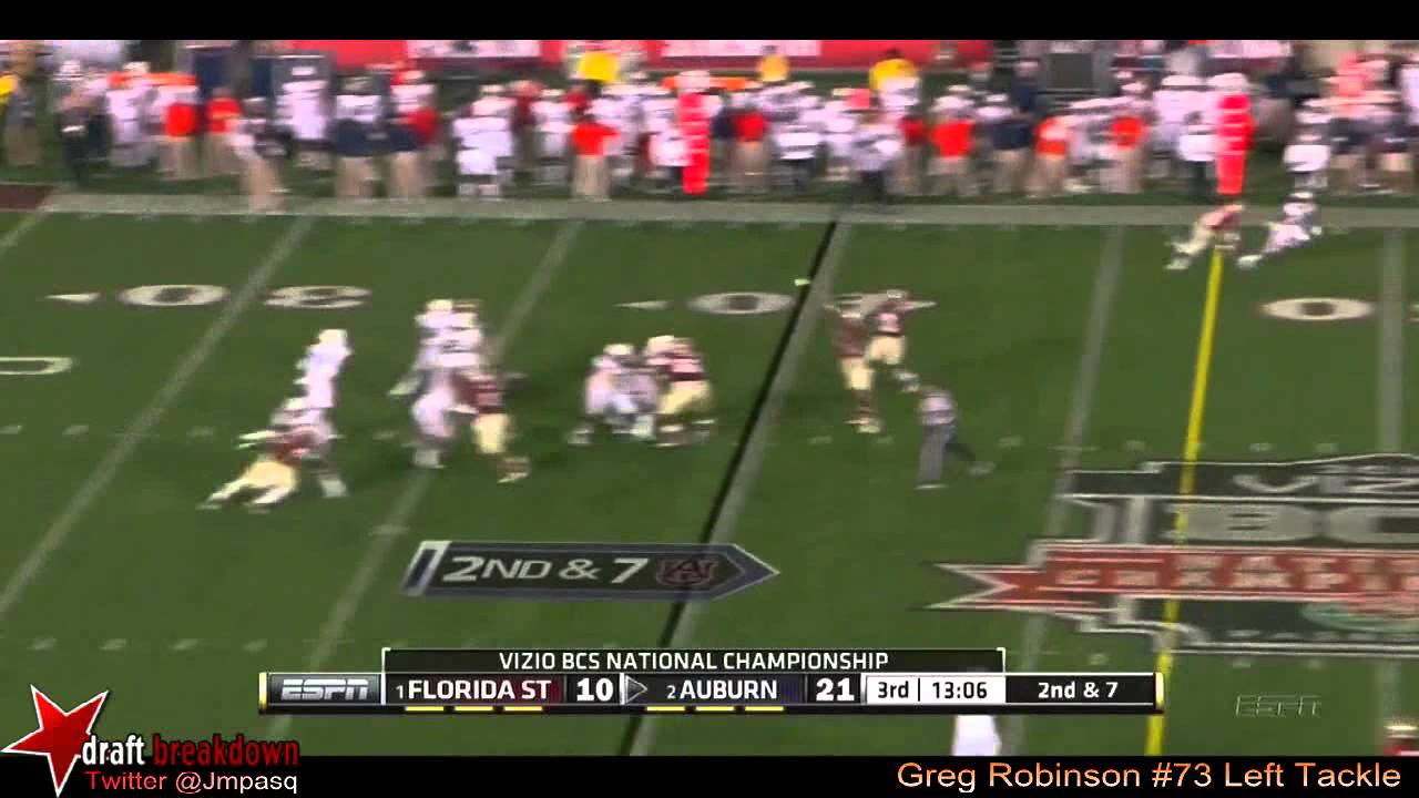 Greg Robinson vs FSU (2013)