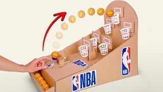 Video Let's Play NBA Basketball Board Game from Cardboard MP3, 3GP, MP4, WEBM, AVI, FLV Januari 2019