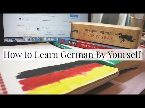 How to Learn German By Yourself | Everything Janis