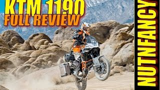 6. World' Best Adventure Bike: KTM 1190 [Full Review]