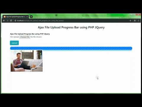 Download File Upload Progress Bar Meter Tutorial Html5 Ajax Php
