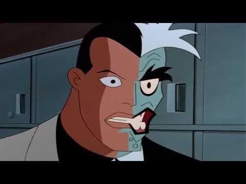 Batman & Bat Girl vs Two Face