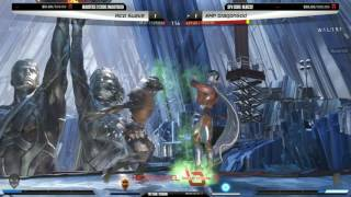 Next Level Battle Circuit is a weekly tournament series in New York City featuring some of the best fighting game players in the world! Watch the fights live every Wednesday 8PM EST on http://twitch.tv/teamsp00kyRico Suave (Scarecrow) vs EMP Dragongod (Doctor Fate) 0:01Card Games (Catwoman) vs Kinetic Predator (Black Adam) 18:07Next Level Arcade, 874 4th Ave, Brooklyn, NY 11232 (http://nycnextlevel.com)Follow Next Level on Twitter (https://twitter.com/nycnextlevel).Brackets available on the Next Level Challonge page (http://nextlevel.challonge.com)💀 Watch more Team Spooky 💀Catch us live on our Twitch channel (http://twitch.tv/teamsp00ky)Follow Team Spooky on Twitter (http://twitter.com/teamspooky)Follow Team Spooky on Facebook (http://facebook.com/teamspooky)