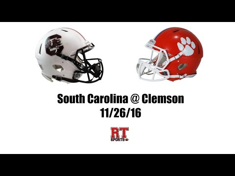 South Carolina Gamecocks at Clemson Tigers in 30 Minutes - 11/26/16 (видео)