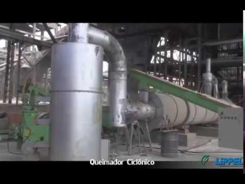 Queimador de Serragem Lippel - Geração de Calor com Serragem ou Pó de Madeira