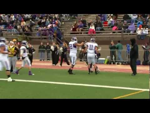 Mount Union - Baldwin Wallace Highlights (11/3/12)