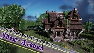 Minecraft, Small Decorative House Medieval/Rustic 1080p, By Jeracraft