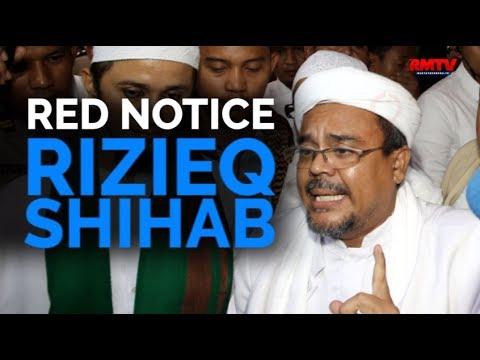 Red Notice Rizieq Shihab