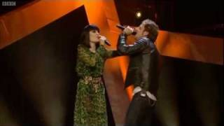 "James Morrison & Jessie J perform ""Up"" - Children in Need Rocks Manchester - BBC"