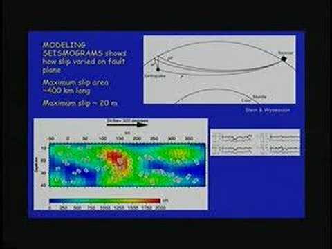 Seismische Tomographie des Erdinnenraums