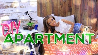 Video DIY - How to Make: Doll Apartment | Bedroom | Kitchen | Livingroom and MORE!! MP3, 3GP, MP4, WEBM, AVI, FLV Juli 2018