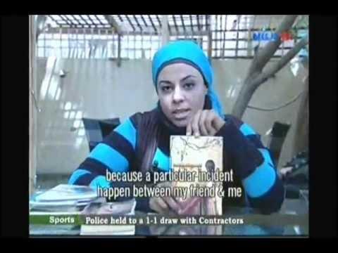 الشاعرة هايدى دياب وبرنامج world of books على قناة Nile Tv