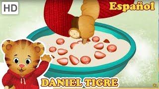 Daniel Tigre en Español - Cómo Hacer una Comida Saludable Para los Comedores Quisquillosos