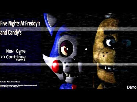 Five Nights At Freddy's And Candy's
