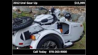 6. 2012 Ural Gear Up New Motorcycles in Boxborough MA
