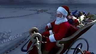 Tarjeta de Navidad para compartir. Merry Christmas | Santa Claus