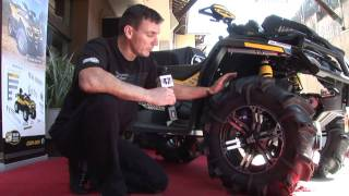 2. 2011 Canam Outlander X MR review.wmv