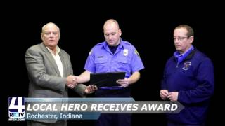 Local Firefighter Receives High Honors