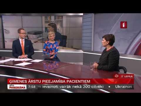 """LTV """"Rīta Panorāma"""" saruna ar veselības ministri Ilzi Viņķeli par Valsts kontroles ieteikumiem ģimenes ārstu pieejamībai, u.c."""