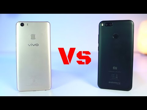 Vivo V7 Plus vs MI A1 Speed Test and Memory Management Test