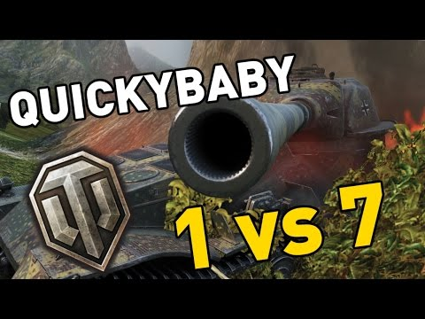World of Tanks || QuickyBaby goes 1 vs 7