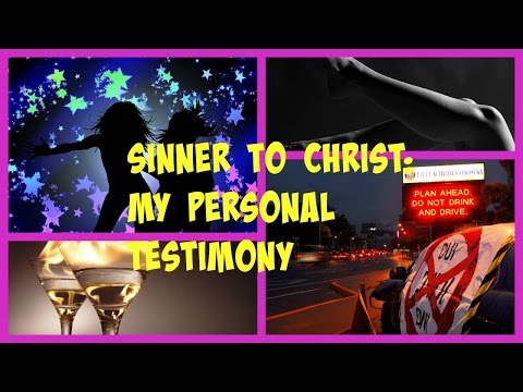 Sinner to Christ: Sister Nichole's Personal Testimony