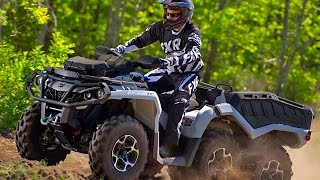 7. TEST RIDE: 2015 Can Am Outlander 650 XT 6x6