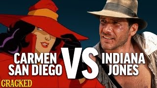 Why Carmen Sandiego Is Better Than Indiana Jones - Today