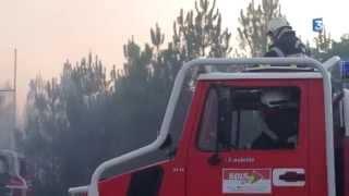 Saint-Jean-d'Illac France  City pictures : Pres de 100 hectares de pin devastes par un incendie a St Jean D Illac