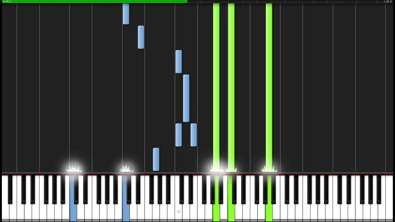 Songs in sadness and sorrow naruto piano tutorial synthesia hd wallpaper of this video baditri Image collections