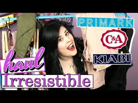 HAUL Ropa Irresistible!  Moda Primavera Verano 2018: Primark, Kiabi, C&A y H&M