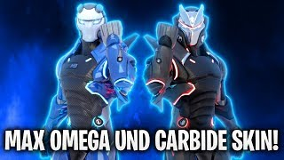 MAX OMEGA UND CARBIDE SKINS! • | Fortnite: Battle Royale